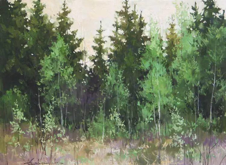 俄罗斯Savchenko Aleksey风景画欣赏插图45