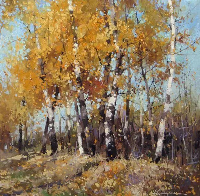 俄罗斯Savchenko Aleksey风景画欣赏插图49