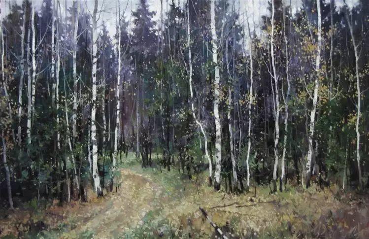 俄罗斯Savchenko Aleksey风景画欣赏插图51