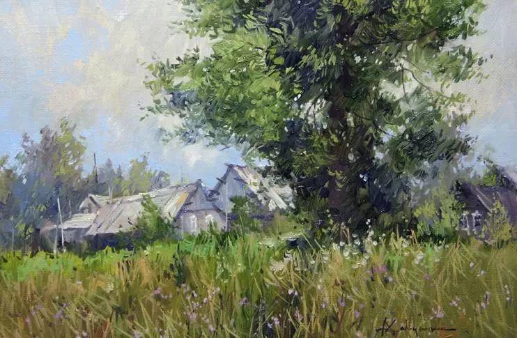 俄罗斯Savchenko Aleksey风景画欣赏插图53