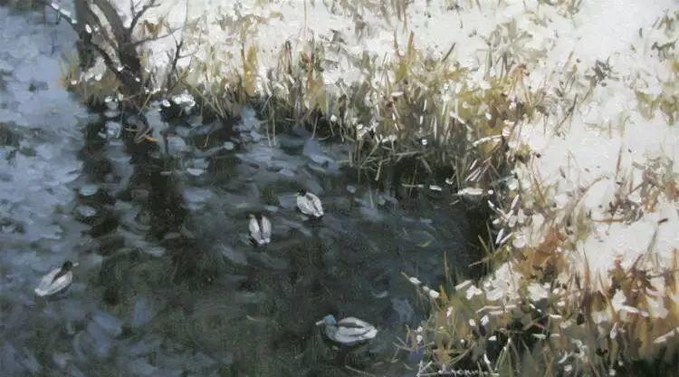 俄罗斯Savchenko Aleksey风景画欣赏插图57