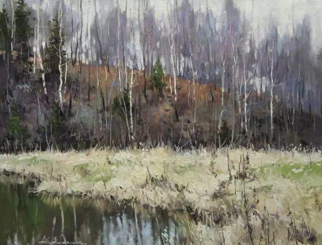 俄罗斯Savchenko Aleksey风景画欣赏插图61