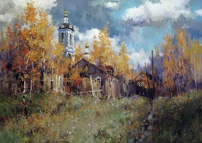 俄罗斯Savchenko Aleksey风景画欣赏插图65