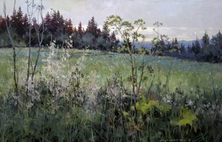 俄罗斯Savchenko Aleksey风景画欣赏插图67