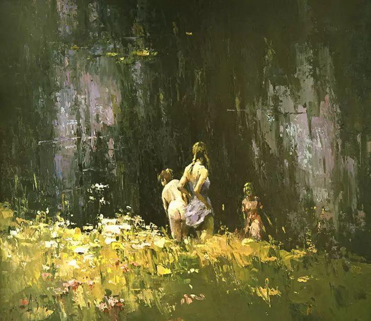 俄罗斯Alexi Zaitsev人物油画欣赏插图11