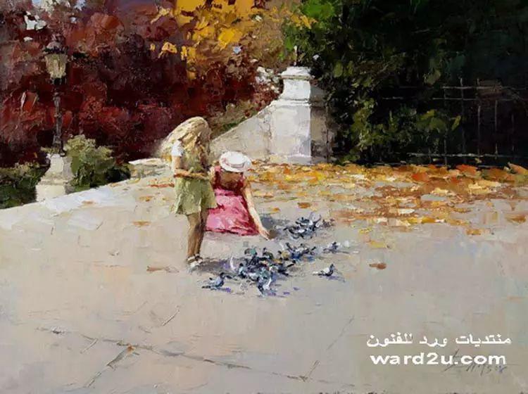 俄罗斯Alexi Zaitsev人物油画欣赏插图15