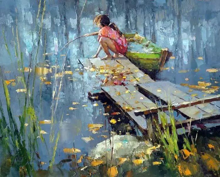 俄罗斯Alexi Zaitsev人物油画欣赏插图19