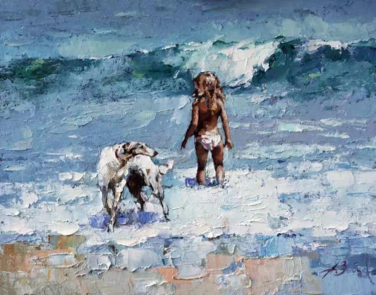 俄罗斯Alexi Zaitsev人物油画欣赏插图23