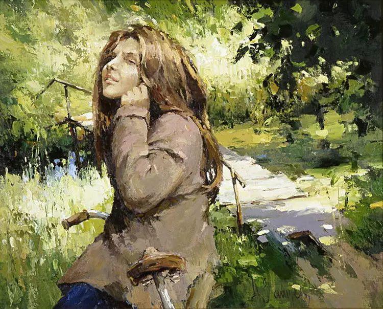 俄罗斯Alexi Zaitsev人物油画欣赏插图31