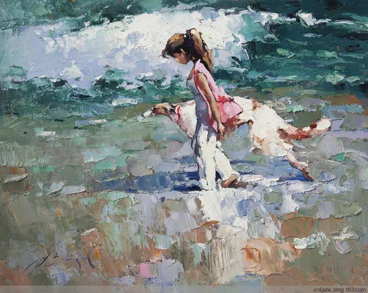 俄罗斯Alexi Zaitsev人物油画欣赏插图33
