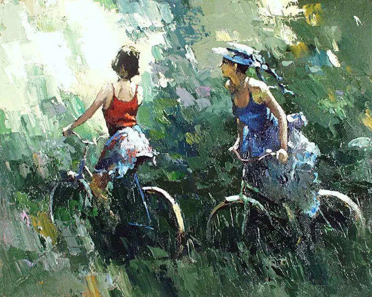 俄罗斯Alexi Zaitsev人物油画欣赏插图37