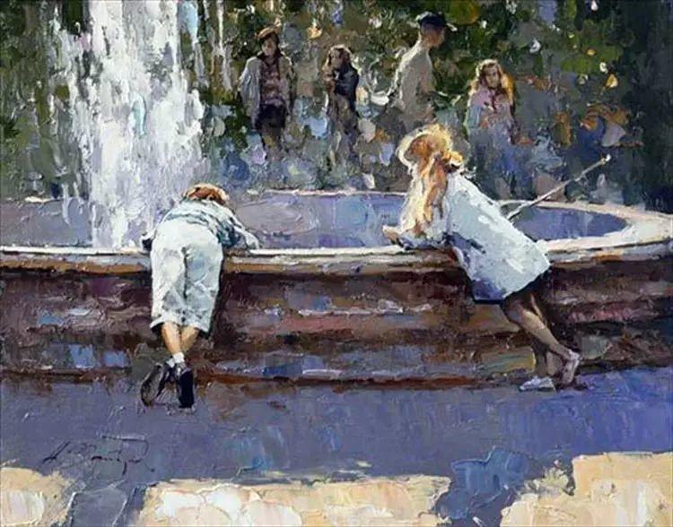 俄罗斯Alexi Zaitsev人物油画欣赏插图61