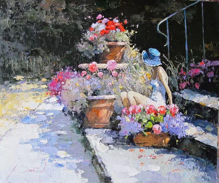 俄罗斯Alexi Zaitsev人物油画欣赏插图69