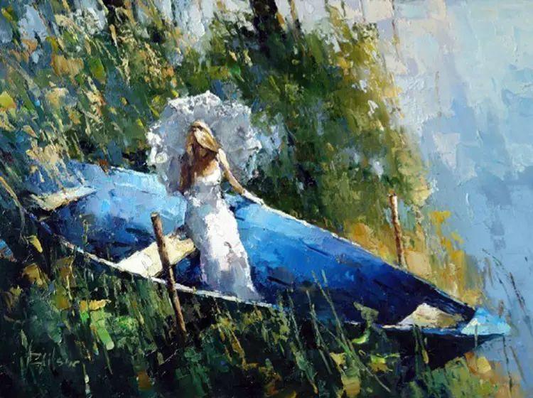 俄罗斯Alexi Zaitsev人物油画欣赏插图79