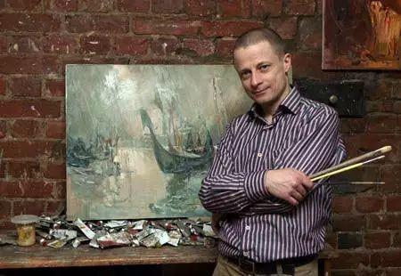 俄罗斯门提斯拉夫印象油画欣赏插图1