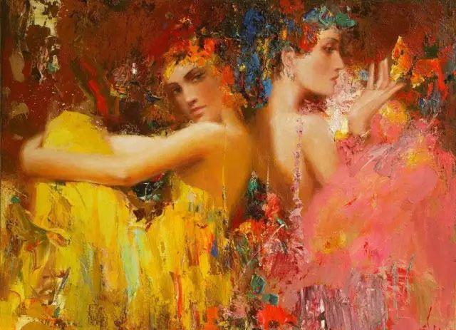 俄罗斯门提斯拉夫印象油画欣赏插图3