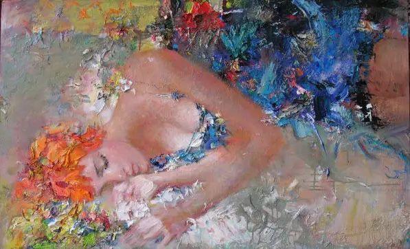 俄罗斯门提斯拉夫印象油画欣赏插图5