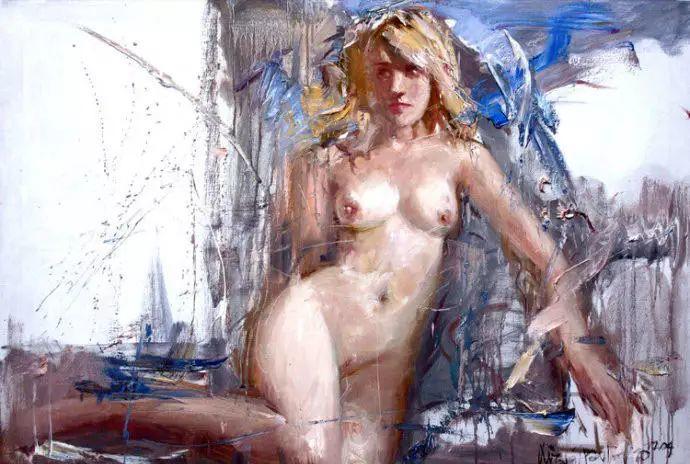 俄罗斯门提斯拉夫印象油画欣赏插图23