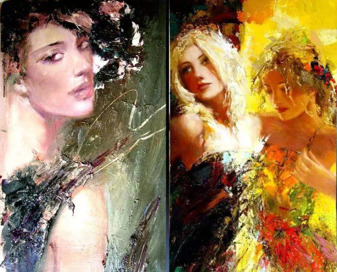 俄罗斯门提斯拉夫印象油画欣赏插图27