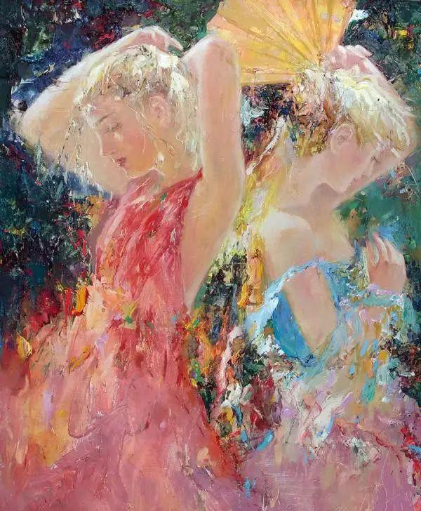 俄罗斯门提斯拉夫印象油画欣赏插图29