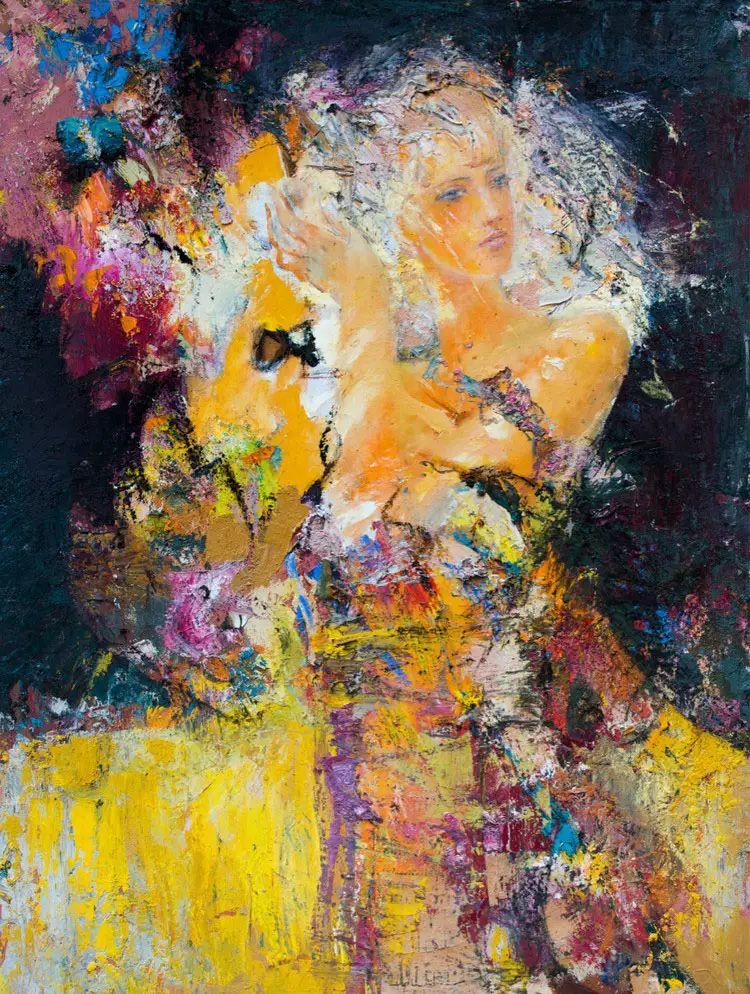 俄罗斯门提斯拉夫印象油画欣赏插图47