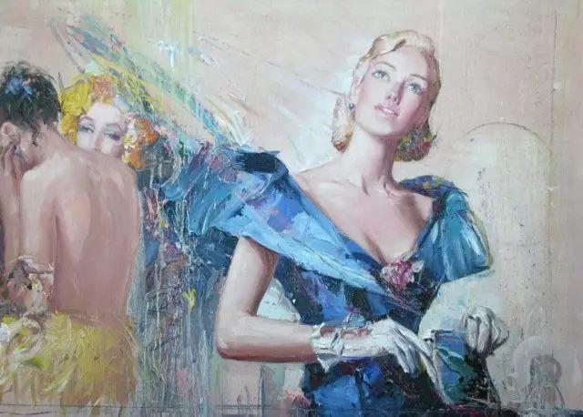 俄罗斯门提斯拉夫印象油画欣赏插图49