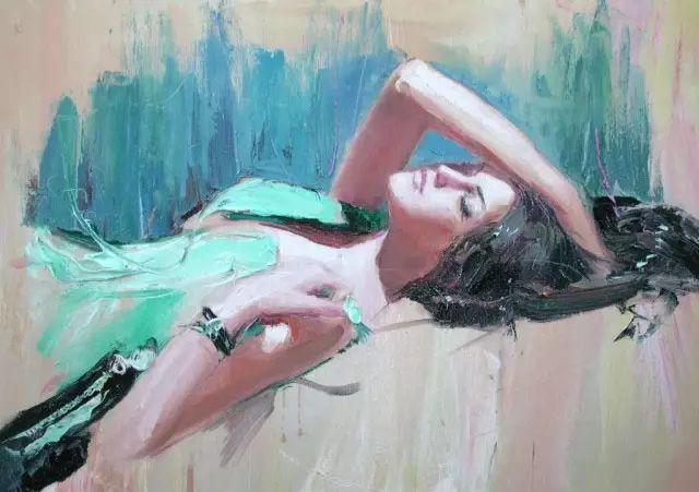 俄罗斯门提斯拉夫印象油画欣赏插图51