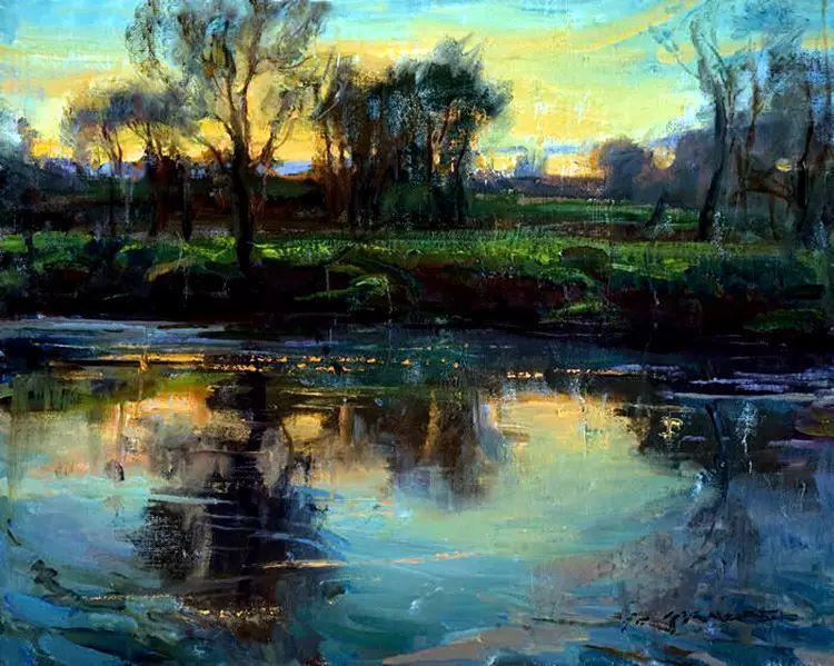 美国Daniel F.Gerhartz风景油画欣赏插图1