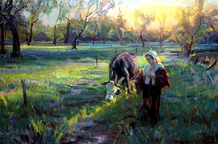 美国Daniel F.Gerhartz风景油画欣赏插图3
