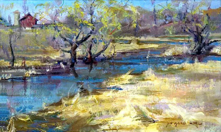 美国Daniel F.Gerhartz风景油画欣赏插图5