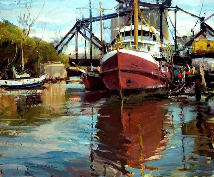 美国Daniel F.Gerhartz风景油画欣赏插图9