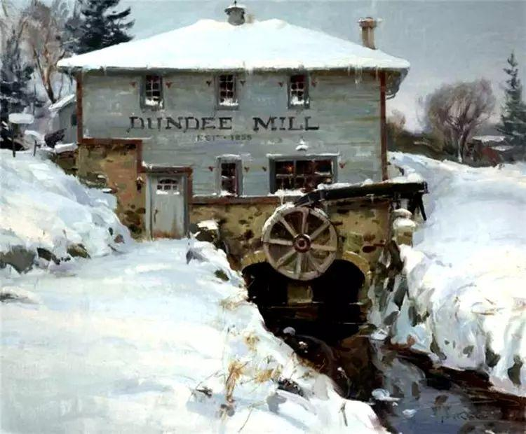 美国Daniel F.Gerhartz风景油画欣赏插图11