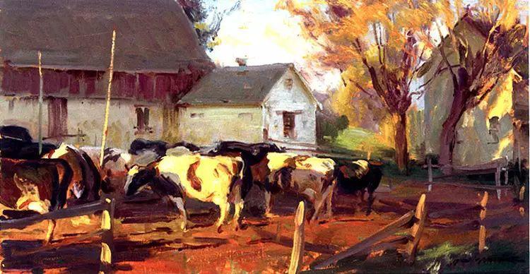 美国Daniel F.Gerhartz风景油画欣赏插图13