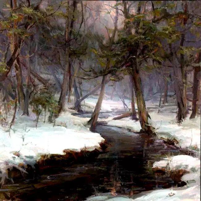 美国Daniel F.Gerhartz风景油画欣赏插图17