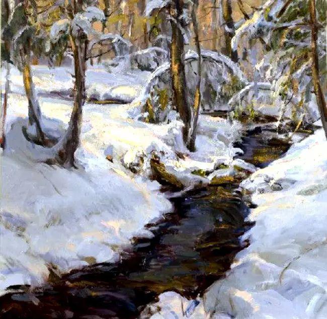 美国Daniel F.Gerhartz风景油画欣赏插图21