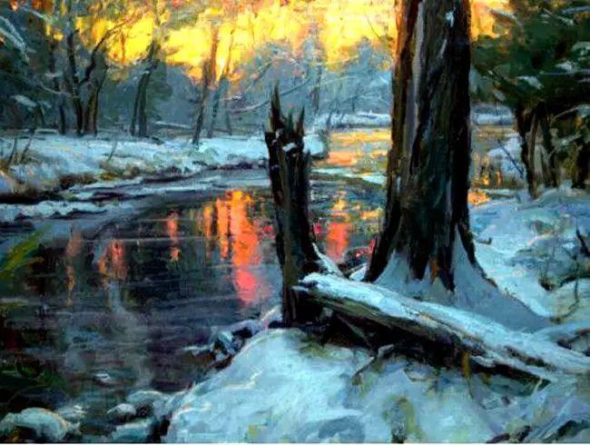 美国Daniel F.Gerhartz风景油画欣赏插图23