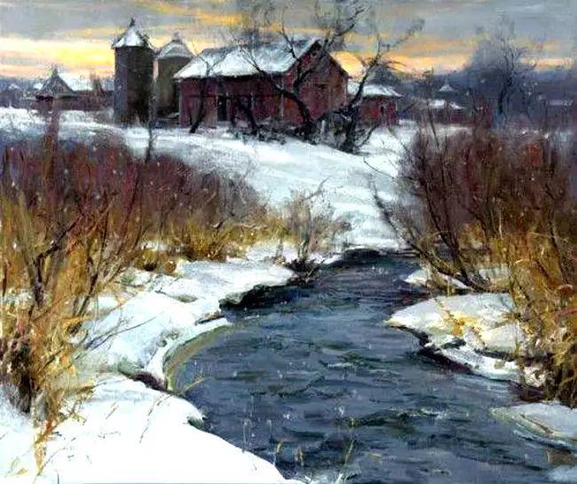美国Daniel F.Gerhartz风景油画欣赏插图27