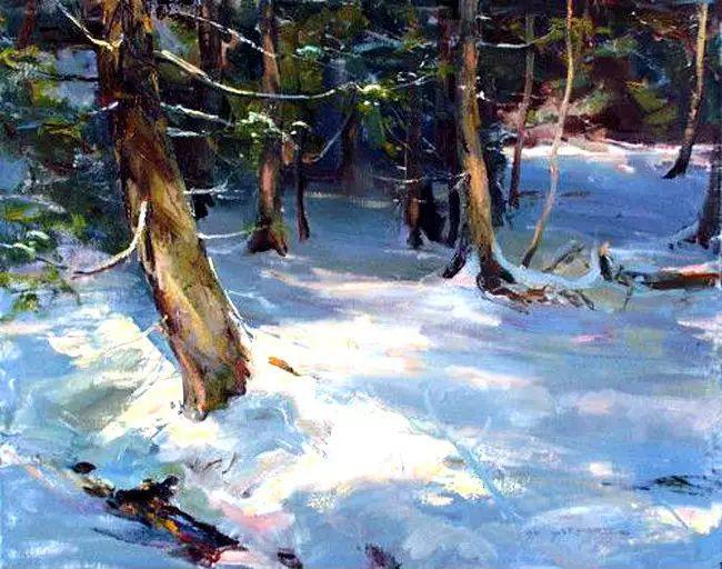 美国Daniel F.Gerhartz风景油画欣赏插图33