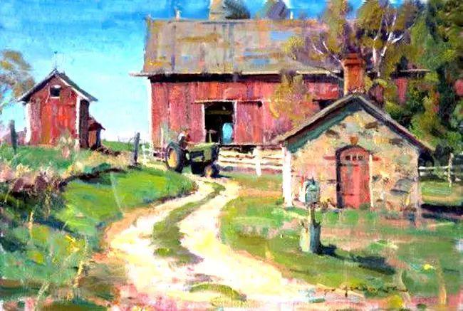 美国Daniel F.Gerhartz风景油画欣赏插图37