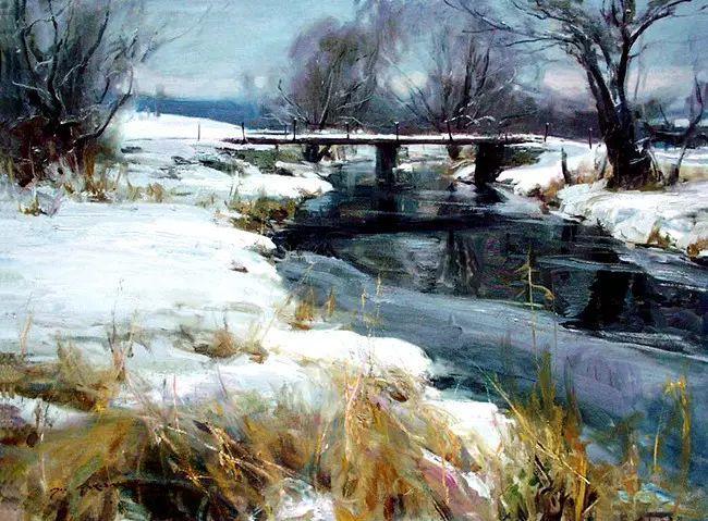 美国Daniel F.Gerhartz风景油画欣赏插图39