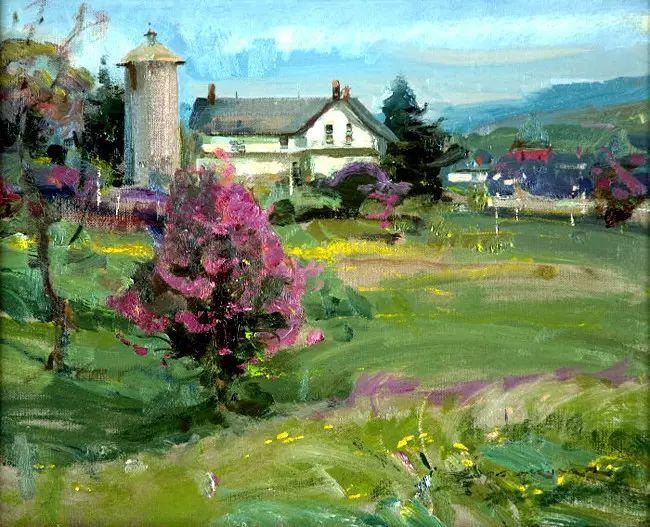 美国Daniel F.Gerhartz风景油画欣赏插图43