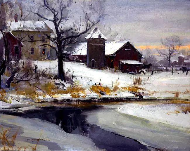 美国Daniel F.Gerhartz风景油画欣赏插图45