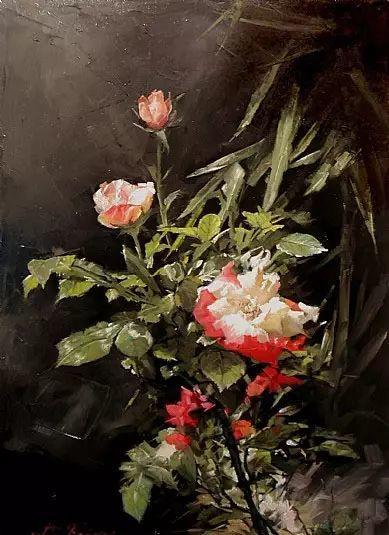 希腊Demetrios Vlachos油画静物欣赏插图33