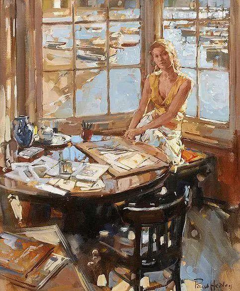 油画世界 英国Paul.Hedley绘画欣赏插图3