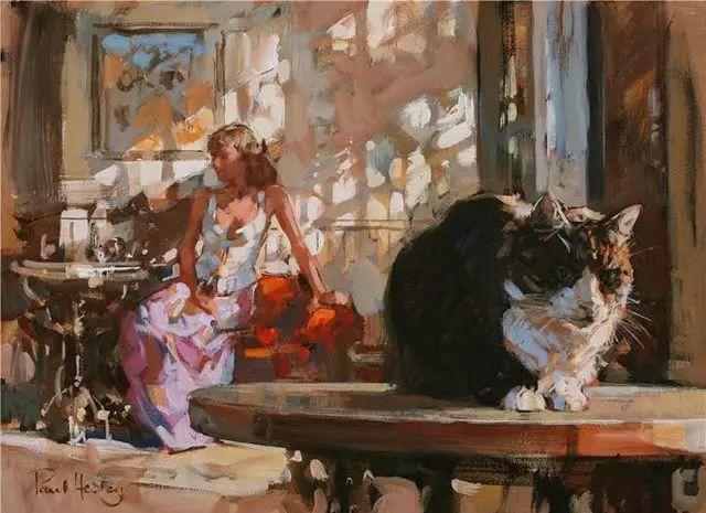 油画世界 英国Paul.Hedley绘画欣赏插图5
