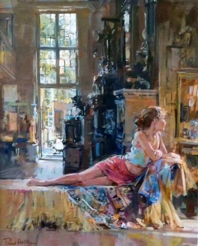 油画世界 英国Paul.Hedley绘画欣赏插图13