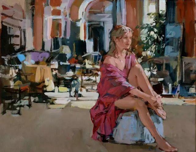 油画世界 英国Paul.Hedley绘画欣赏插图25