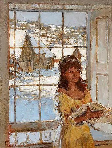 油画世界 英国Paul.Hedley绘画欣赏插图29