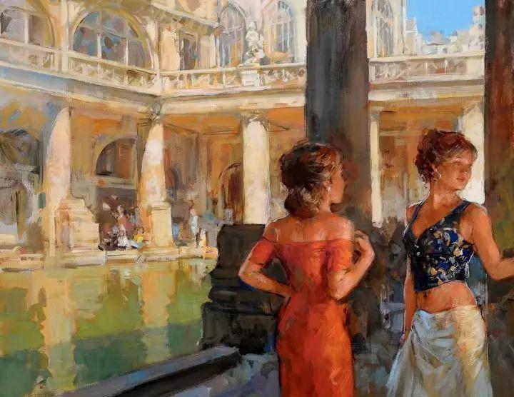 油画世界 英国Paul.Hedley绘画欣赏插图31