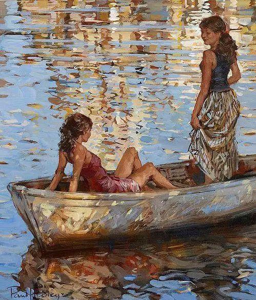油画世界 英国Paul.Hedley绘画欣赏插图33